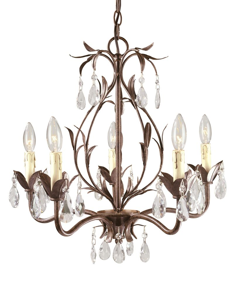 Weathered Bronze Chandelier