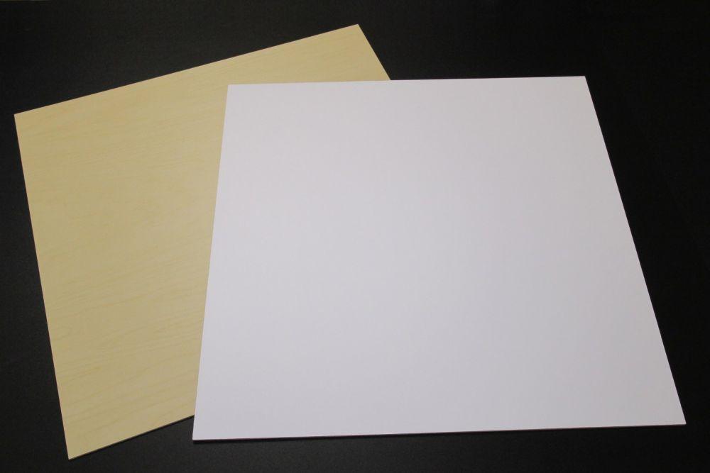 White Panel(5) 22.5 Inch X 22.5 Inch