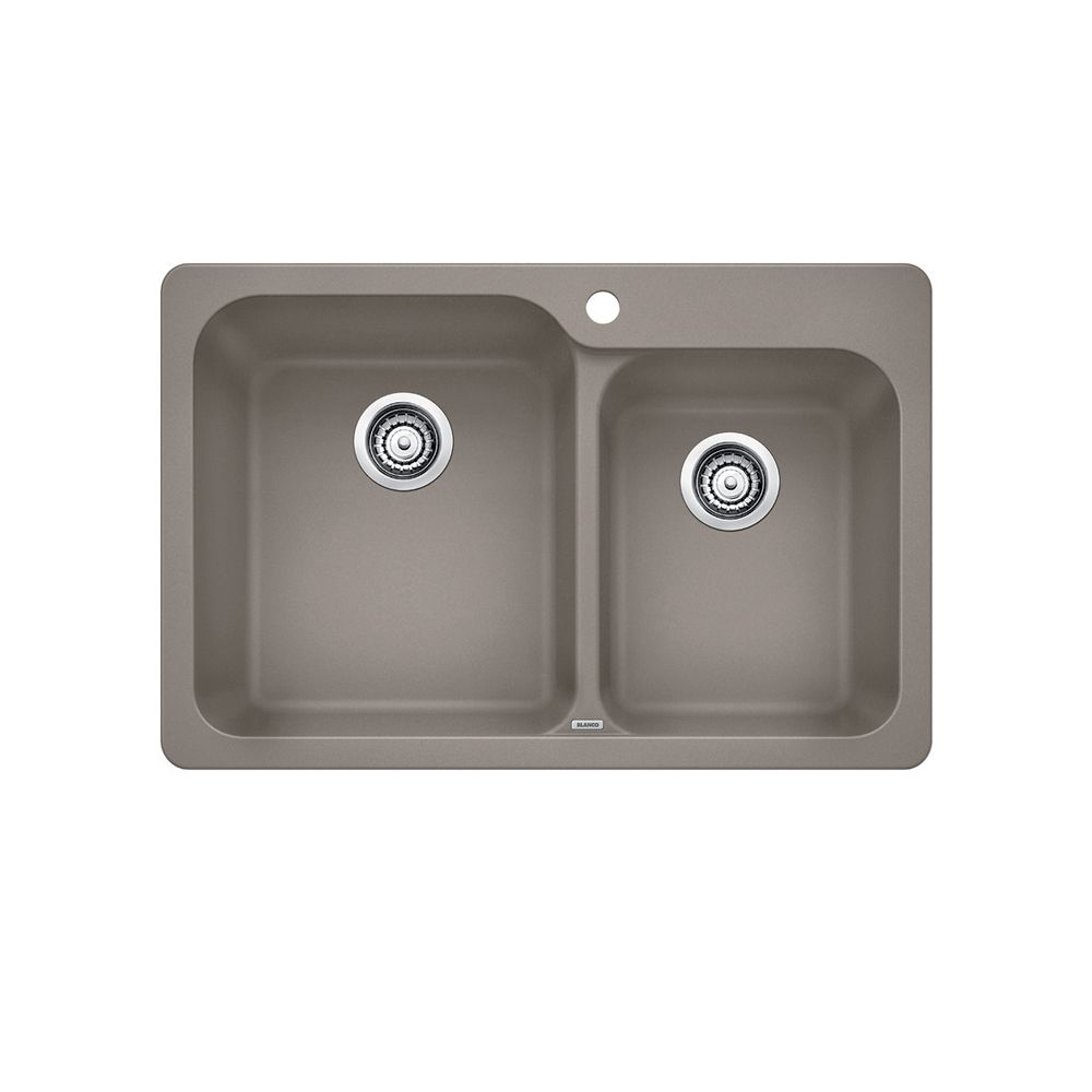 Blanco Single Bowl, Right-Hand Drainboard Top Mount Stainless Steel ...