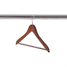 Neatfreak 14 Pack of Dark Wood Clothes Hanger