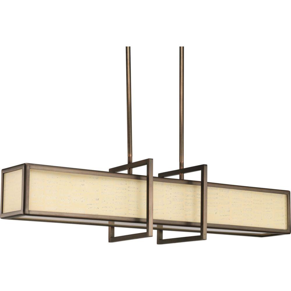 Haven Collection Copper Bronze 4-light Pendant
