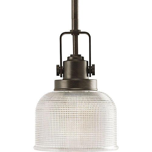 Mini suspension à 1 Lumière, Collection Archie - fini Bronze Venitiem