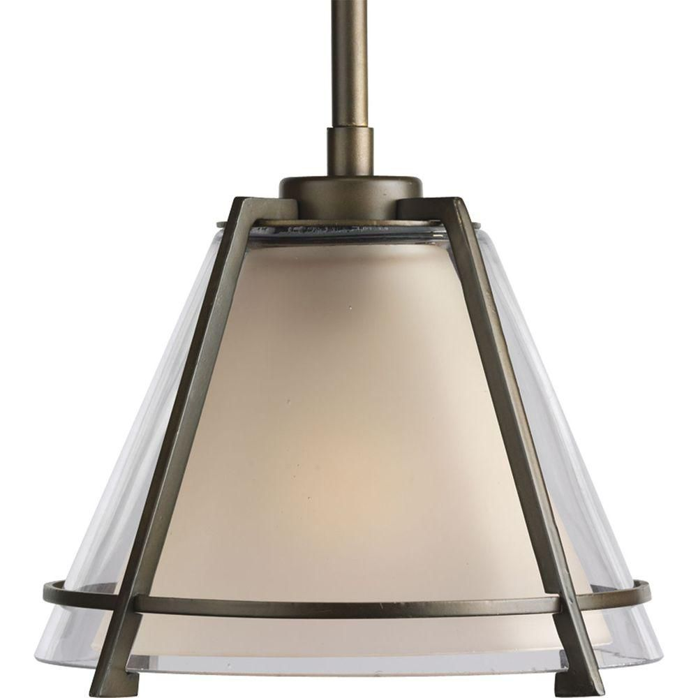 Progress Lighting Oil Rubbed Bronze 1 Light Mini Pendant