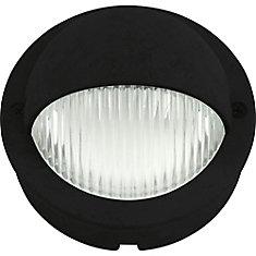 Luminaire de terrasse noir à 1lampe DEL