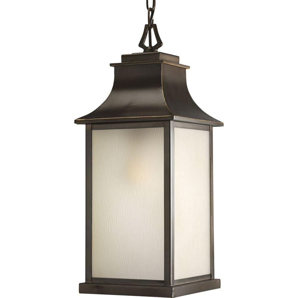 Salute Collection Oil Rubbed Bronze 1-light Hanging Lantern 7.85247E 11 Canada Discount