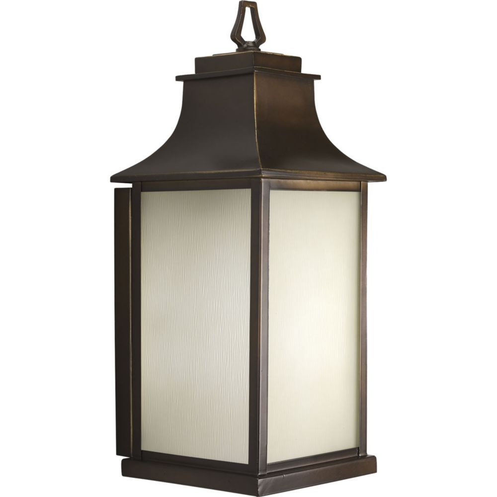 Salute Collection Oil Rubbed Bronze 1-light Wall Lantern