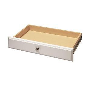 10 cm tiroir de luxe - blanc