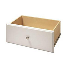 12-inch x 24-inch Deluxe Drawer in White