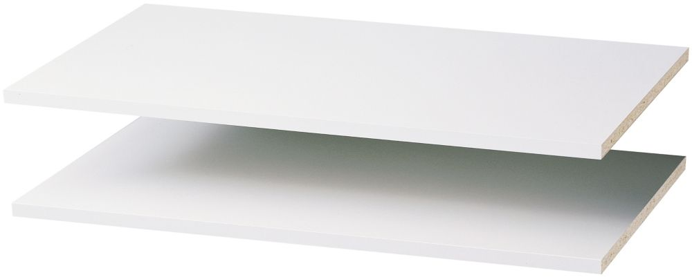 35 Inch Shelves (2 pack) - White