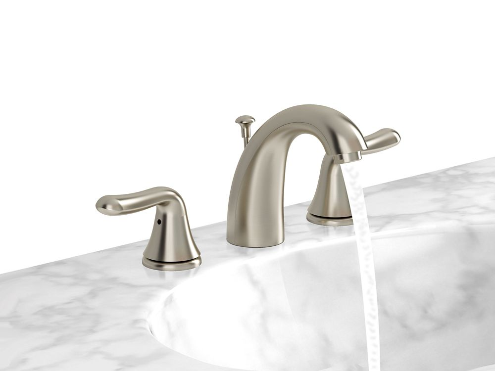 Cadet 2-Handle Widespread Bathroom Faucet