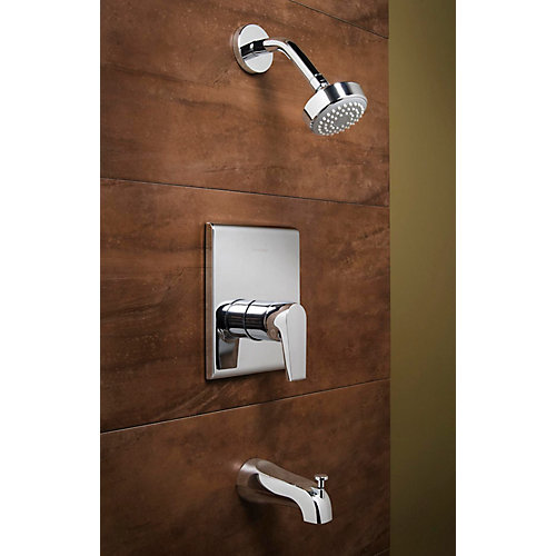 American Standard Onyx 1 Spray Wall Mount Tub Shower Faucet In