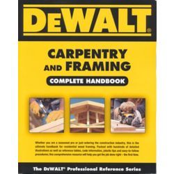 Nelson Education Carpentry And Framing - Complete Handbook