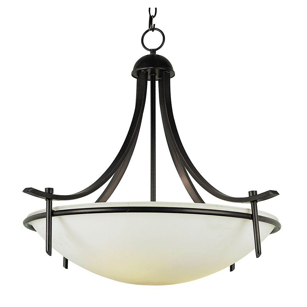 Bel Air Lighting Bronze Bolted 26 inch Pendant
