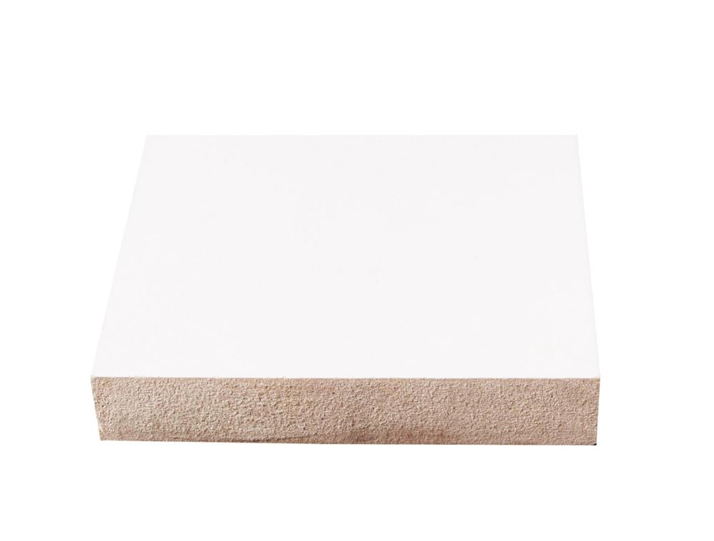 Primed Fibreboard Base 3/4 Inches x 2-1/2 Inches x 96 Inches