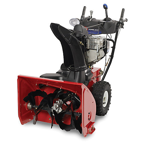 Powermax 1128 OXE Two-Stage Electric Snow Blower with 28-Inch Clearing Width