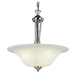 Bel Air Lighting Suspension à encastrement, nickel