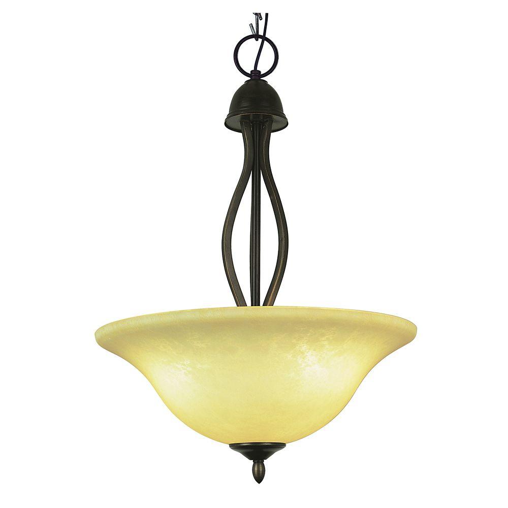 Bel Air Lighting Bronze Hooked Hanging Pendant