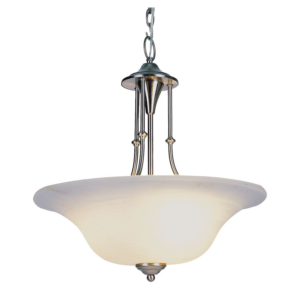 Bel Air Lighting Nickel Contemporary Hanging Pendant