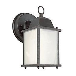 Bel Air Lighting 1-Light Outdoor Rust Wall Lantern