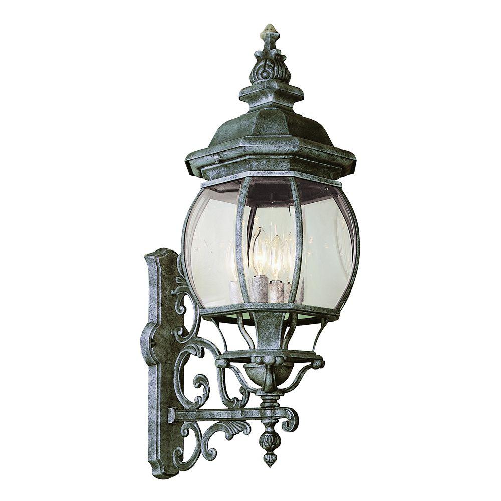 Bel Air Lighting Patina Iron Montreal Wall Lantern - Large