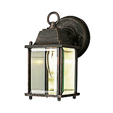 Lampe de terrasse, rouille, 20,32 cm (8 po)