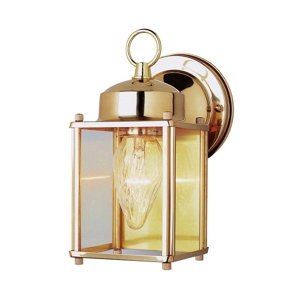 Polished Brass 9 inch Patio Light