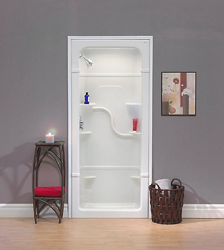 Mirolin Madison 36-Inch 1-Piece Acrylic Shower Stall | The Home ...