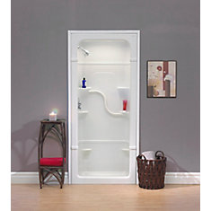 Madison 36-Inch 1-Piece Acrylic Shower Stall