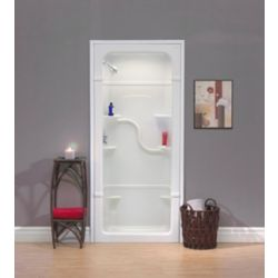 Mirolin Madison 36-Inch 1-Piece Acrylic Shower Stall
