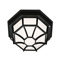 Bel Air Lighting Black Web 9 inch Ceiling Light