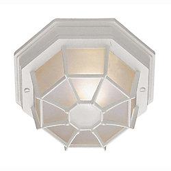 Bel Air Lighting White Web 9 inch Ceiling Light