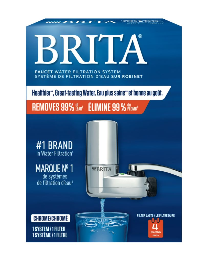faucet mount water filtration system