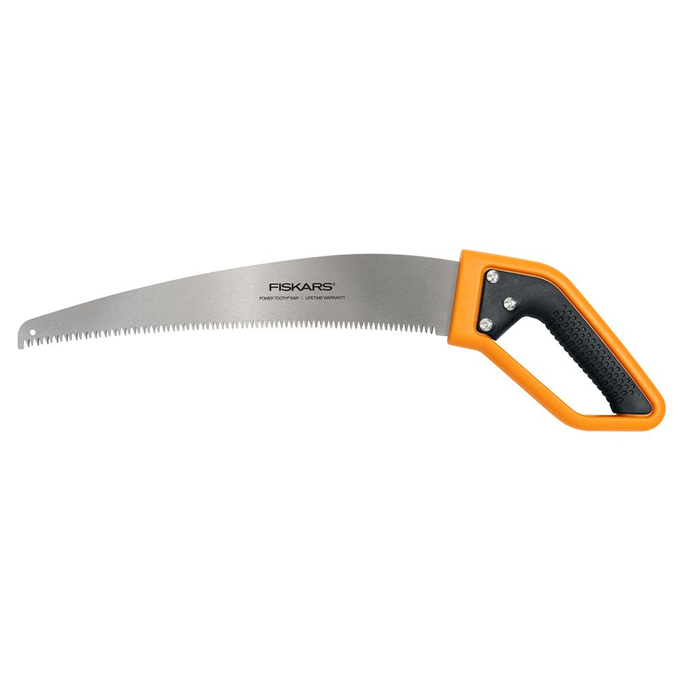 Fiskars Power Tooth 15-inch Softgrip D-Handle Saw