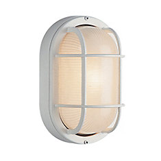 Porch Deck and Stairwell Light 11 inch in White