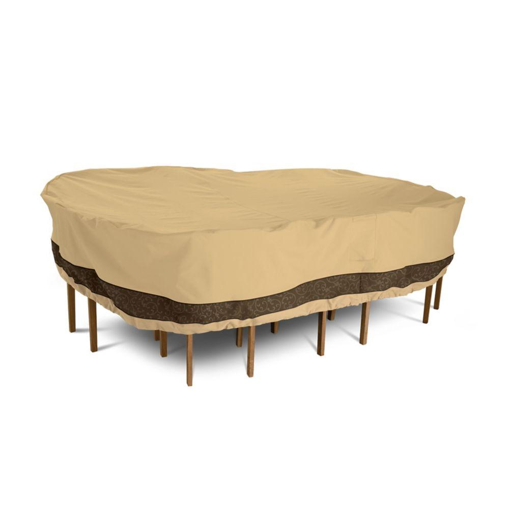 Veranda elite housse pour ensemble de table et chaises de patio