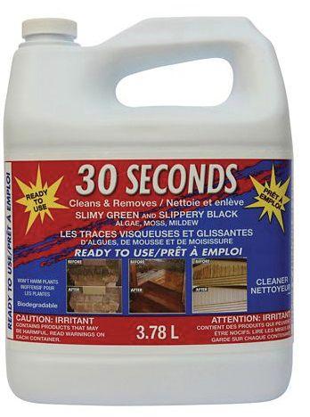 30 Seconds Outdoor Cleaner 3.78 RTU
