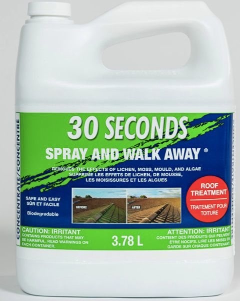 30 Seconds Spray and Walk Away