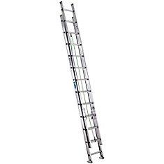 Aluminum Extension Ladder Grade 2 (225# Load Capacity) - 24 Feet