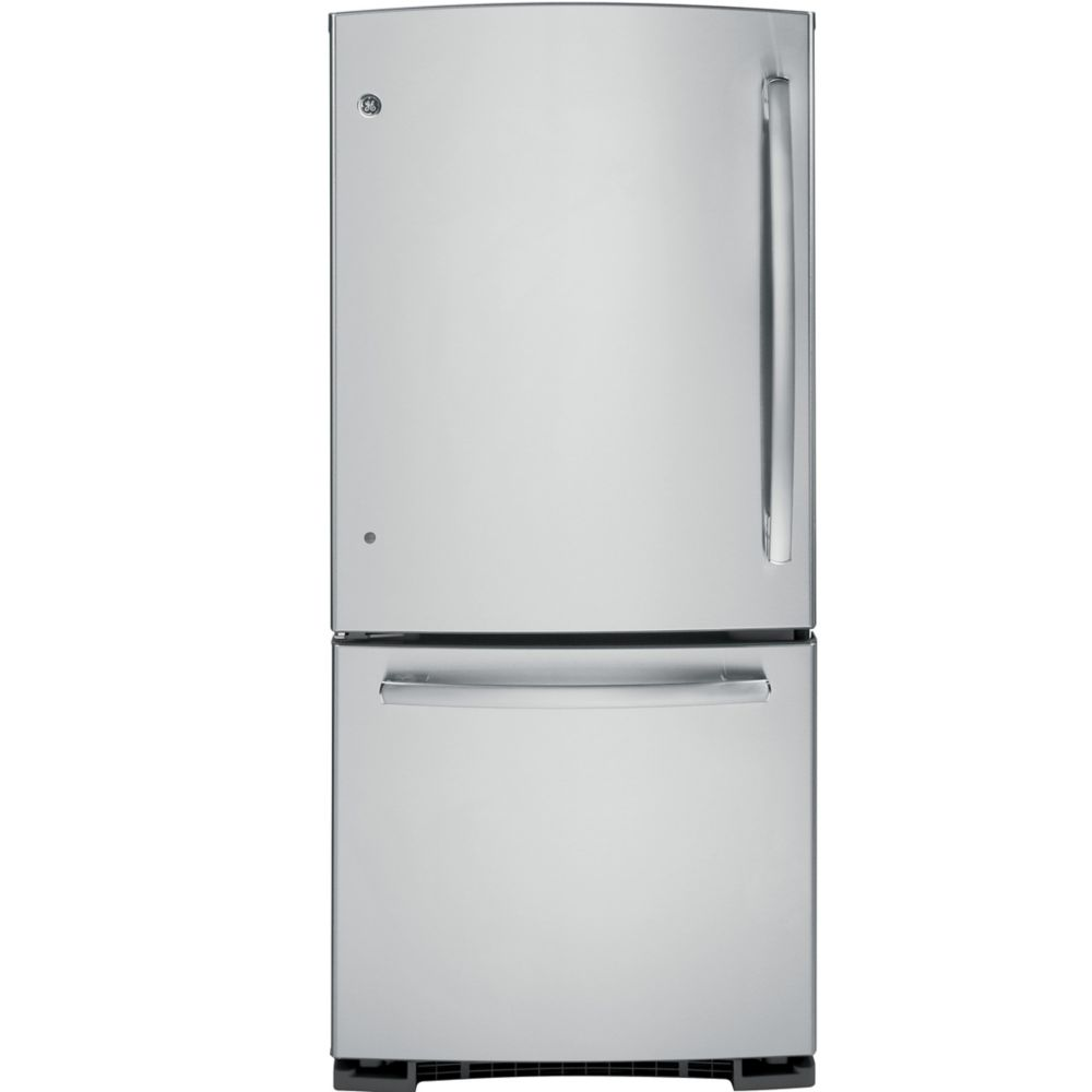 20.2 cu. ft. Refrigerator with Bottom Mount Freezer in Stainless Steel