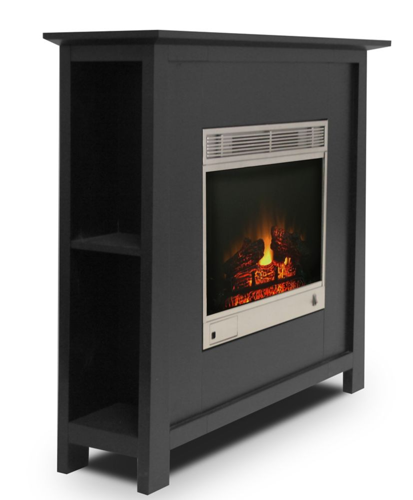 Electric Fireplace Heaters Home Depot: Paramount Madison Electric Fireplace