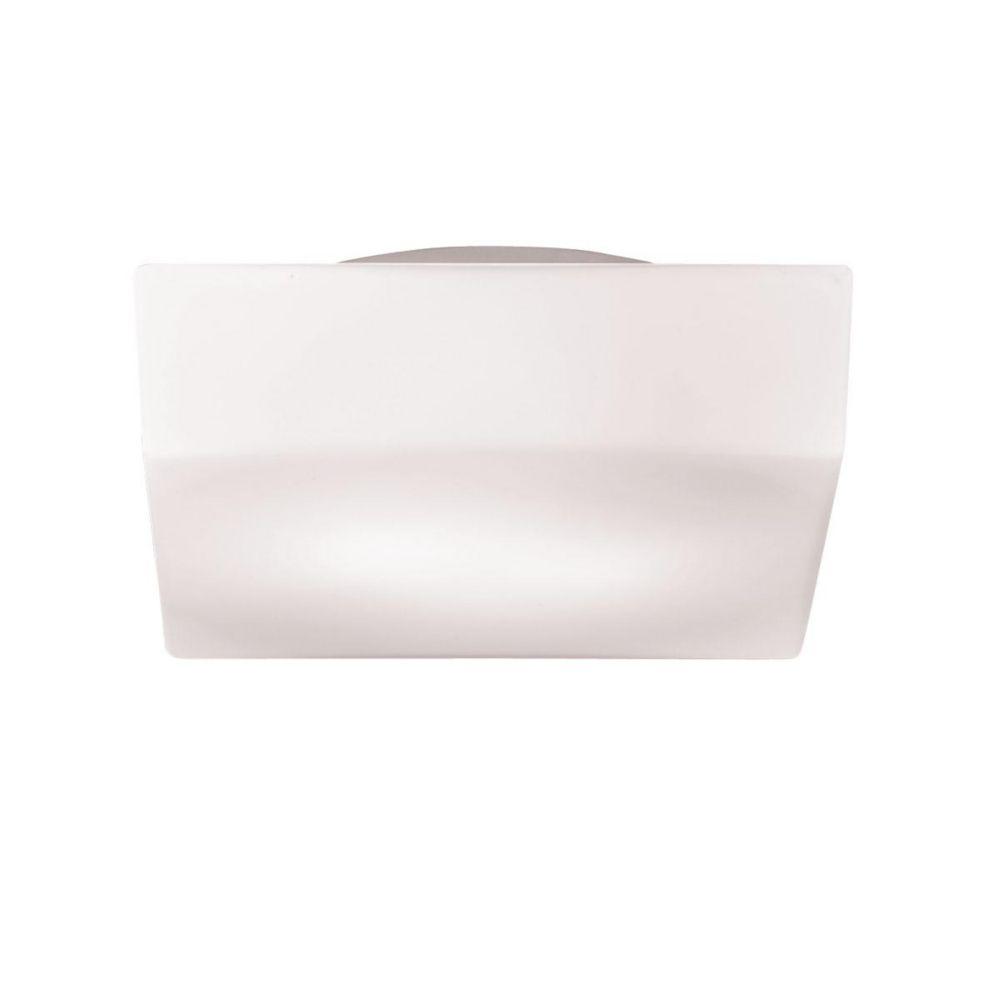 Eurofase Amata Collection 1-Light Frost White Flush Mount