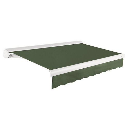 Rolltec 12 Ft Manual Retractable Patio Awning 10 Ft