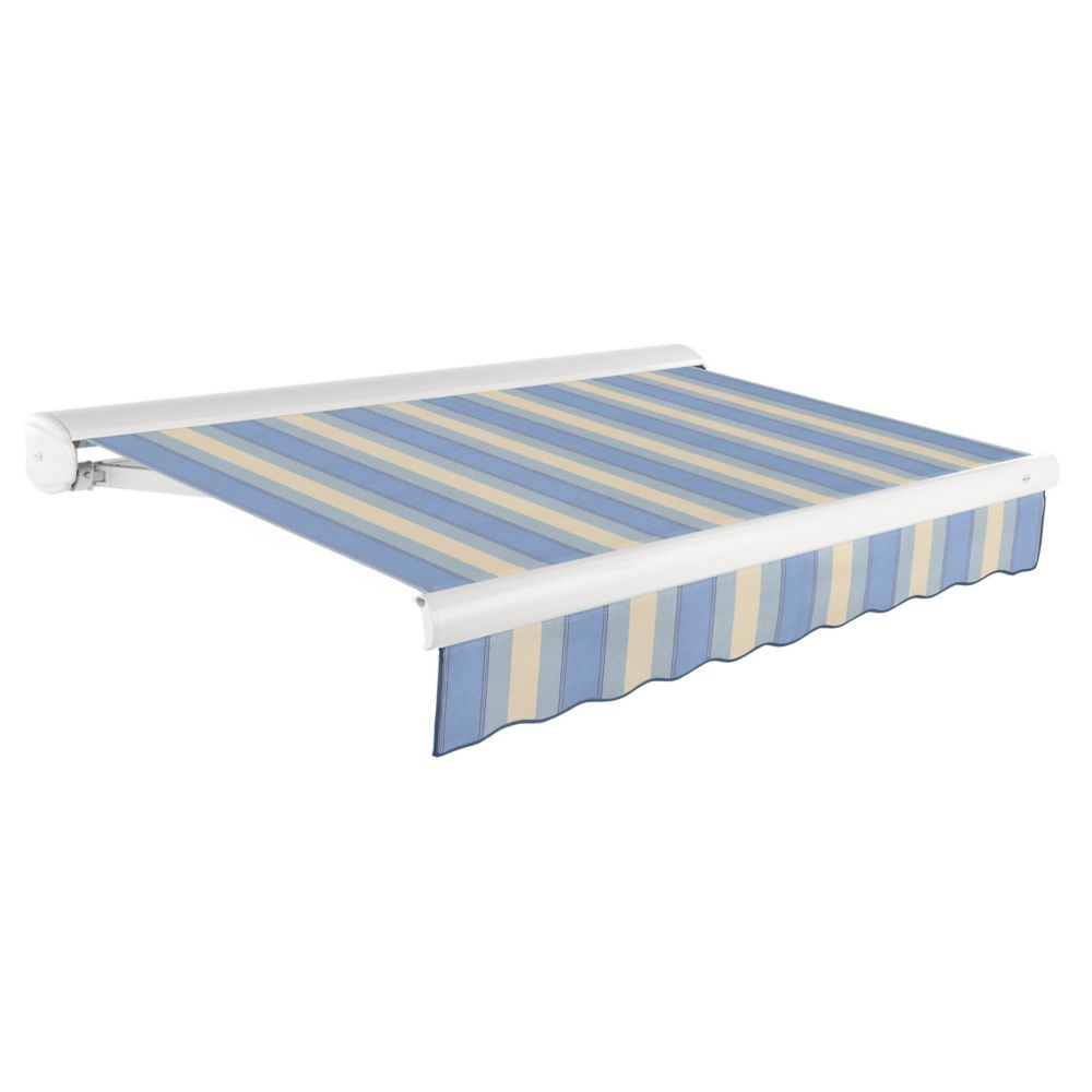 24 Feet VICTORIA  Motorozed Retractable Luxury Cassette Awning (10 Feet Projection) (Right Motor)...