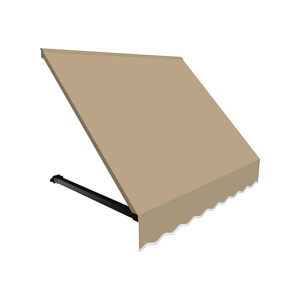 1,83m (6pi) WINNIPEG (1,12m (44po) H x 91,44cm (36po) P) Auvent de fenêtre / d'entrée  - Lin