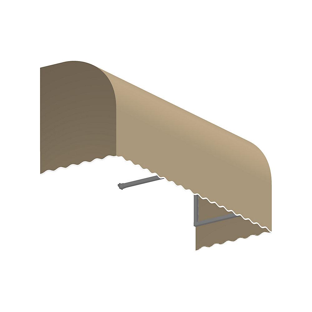 0,91m (3pi) TERREBONNE (1,12m (44po) H x 91,44cm (36po) P) Auvent de fenêtre / d'entrée  - Lin
