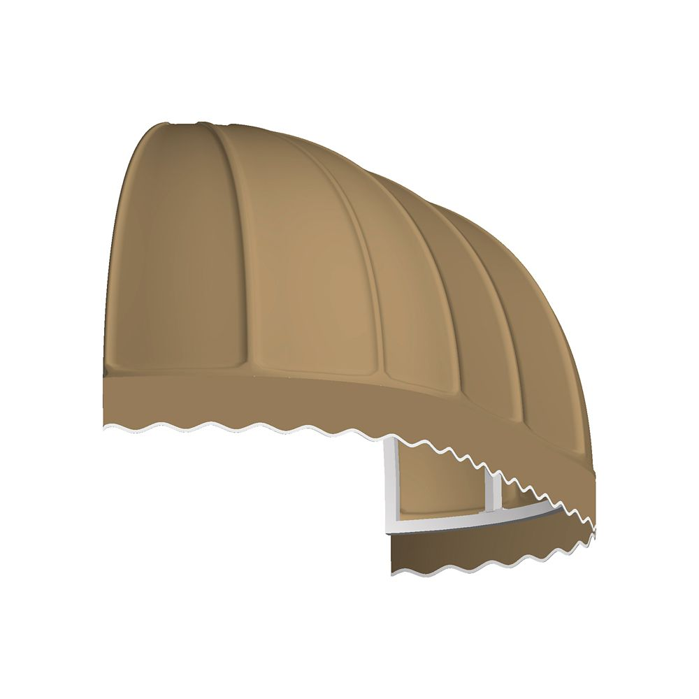 5 Feet Vancouver (31 Inch H X 24 Inch D) Window / Entry Awning Tan