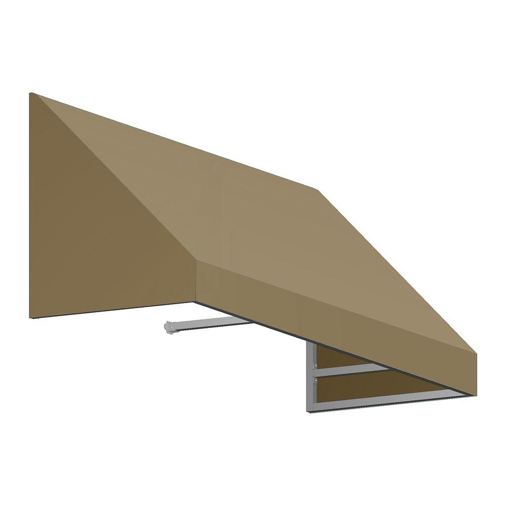 5 Feet Toronto (31 Inch H X 24 Inch D) Window / Entry Awning Tan