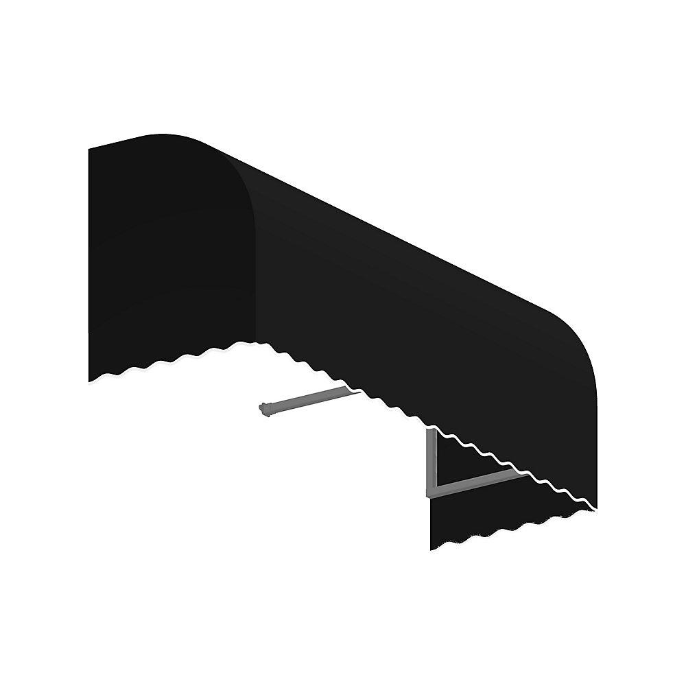 5 Feet Terrebonne 31 Inh X 24 Ind Window Entry Awning Black