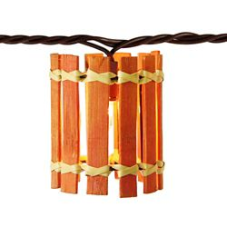 THD Decorative 10-Head Incandescent Bamboo String Light