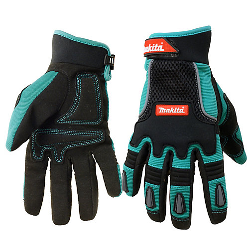 IMPACT Series Professional Work Gloves, L